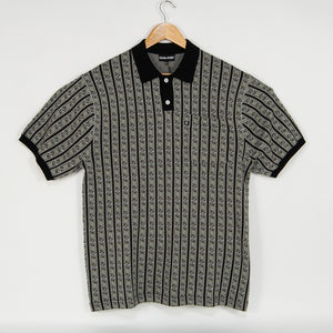 Pass Port Skateboards - Tilde Knitted Polo Shirt - Grey