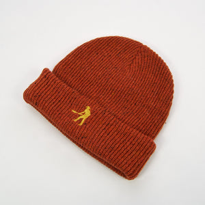 Pass Port Skateboards - Workers Beanie - Burnt Orange