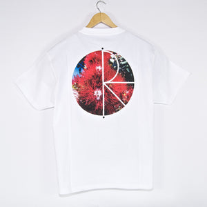 Polar Skate Co. - Callistemon Fill Logo T-Shirt - White