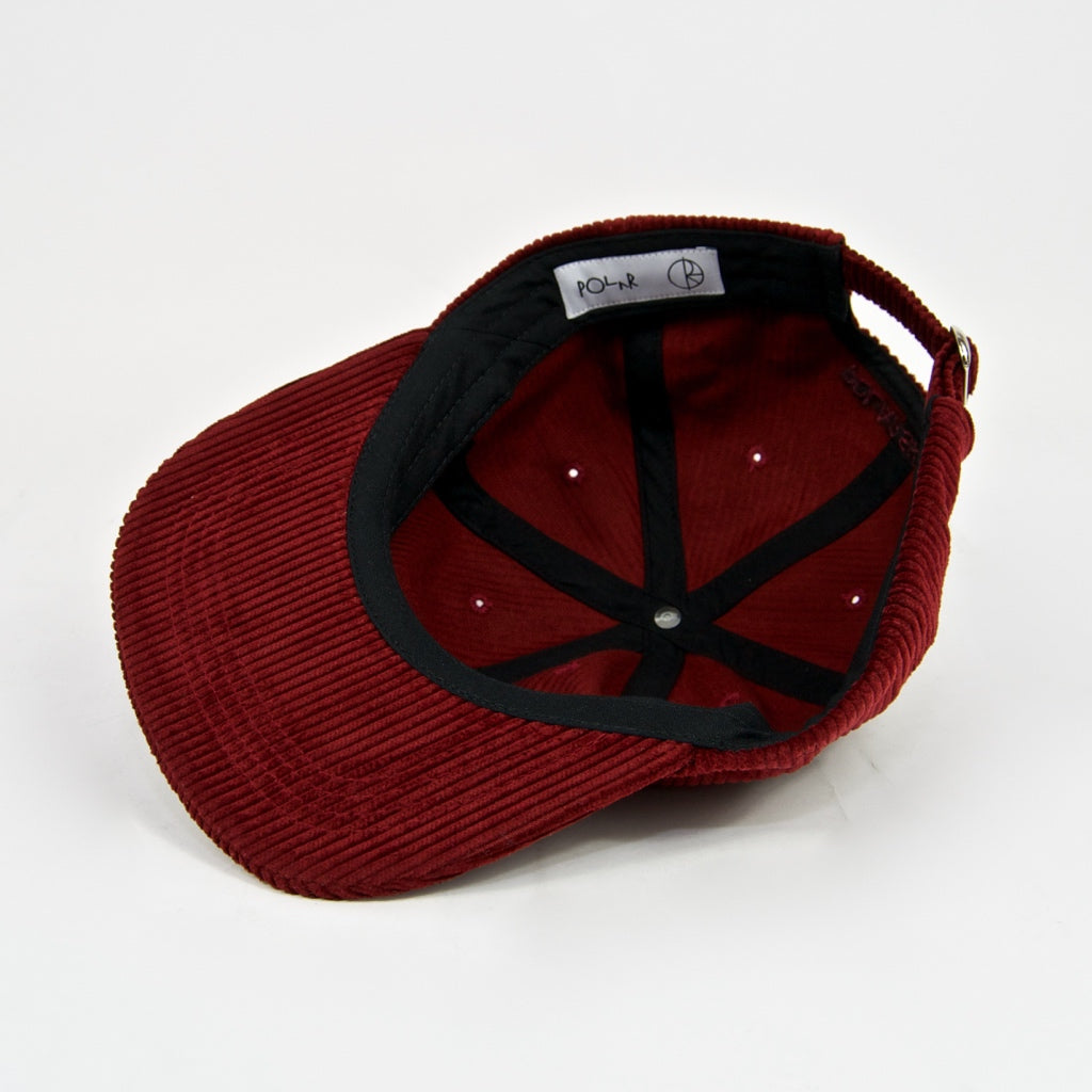 Polar Skate Co. - Cord Cap - Red