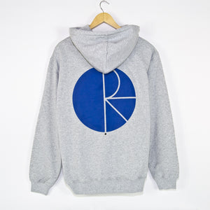 Polar Skate Co. - Fill Logo Pullover Hooded Sweatshirt - Sport Grey