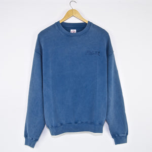 Polar Skate Co. - Garment Dye Crewneck Sweatshirt - Blue