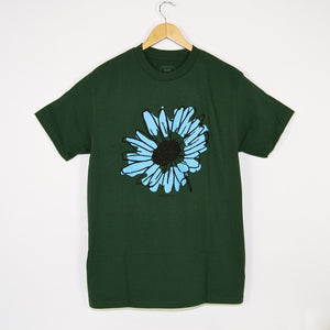Quasi Skateboards - Flower T-Shirt - Forest Green