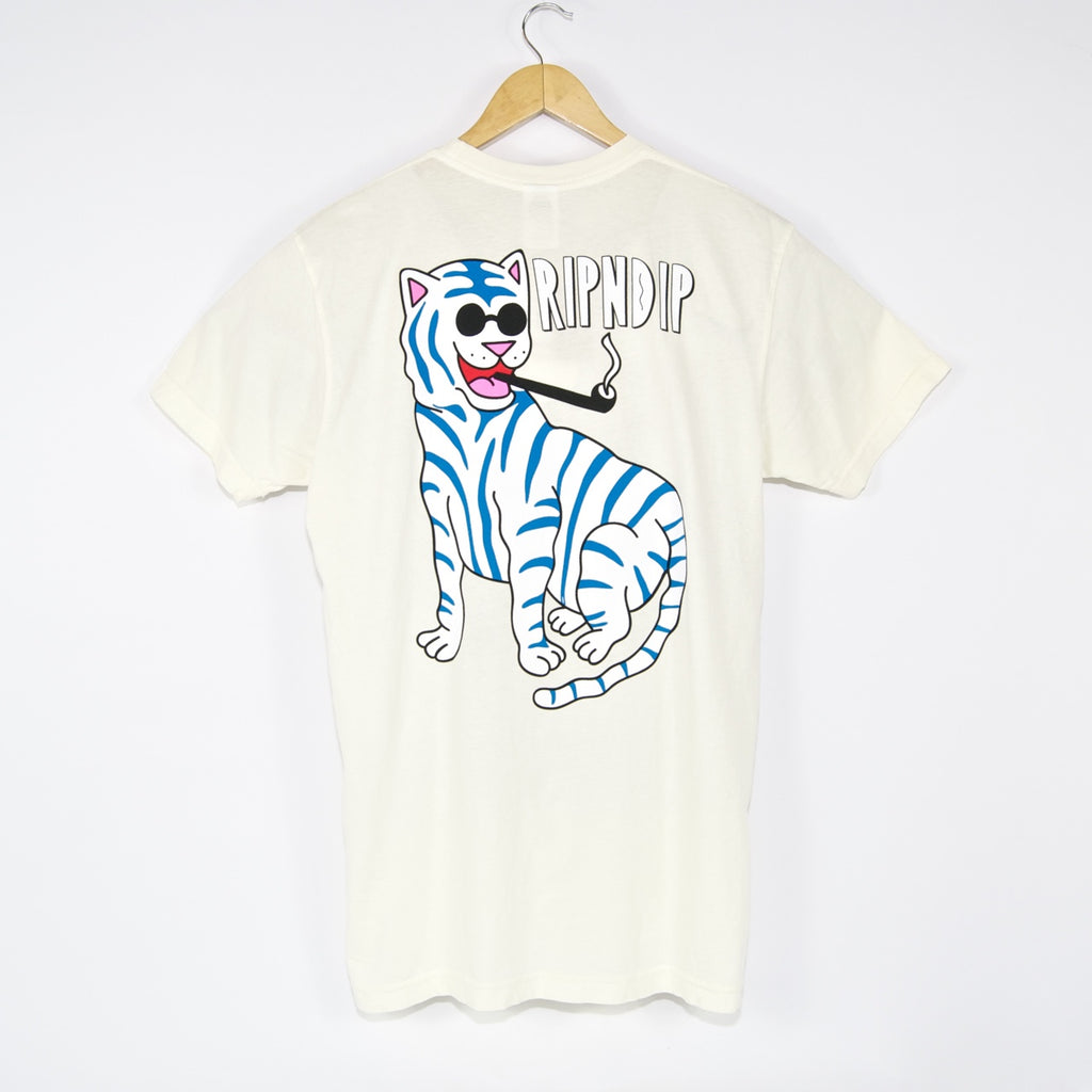 Rip N Dip - Cool Cat T-Shirt - Natural
