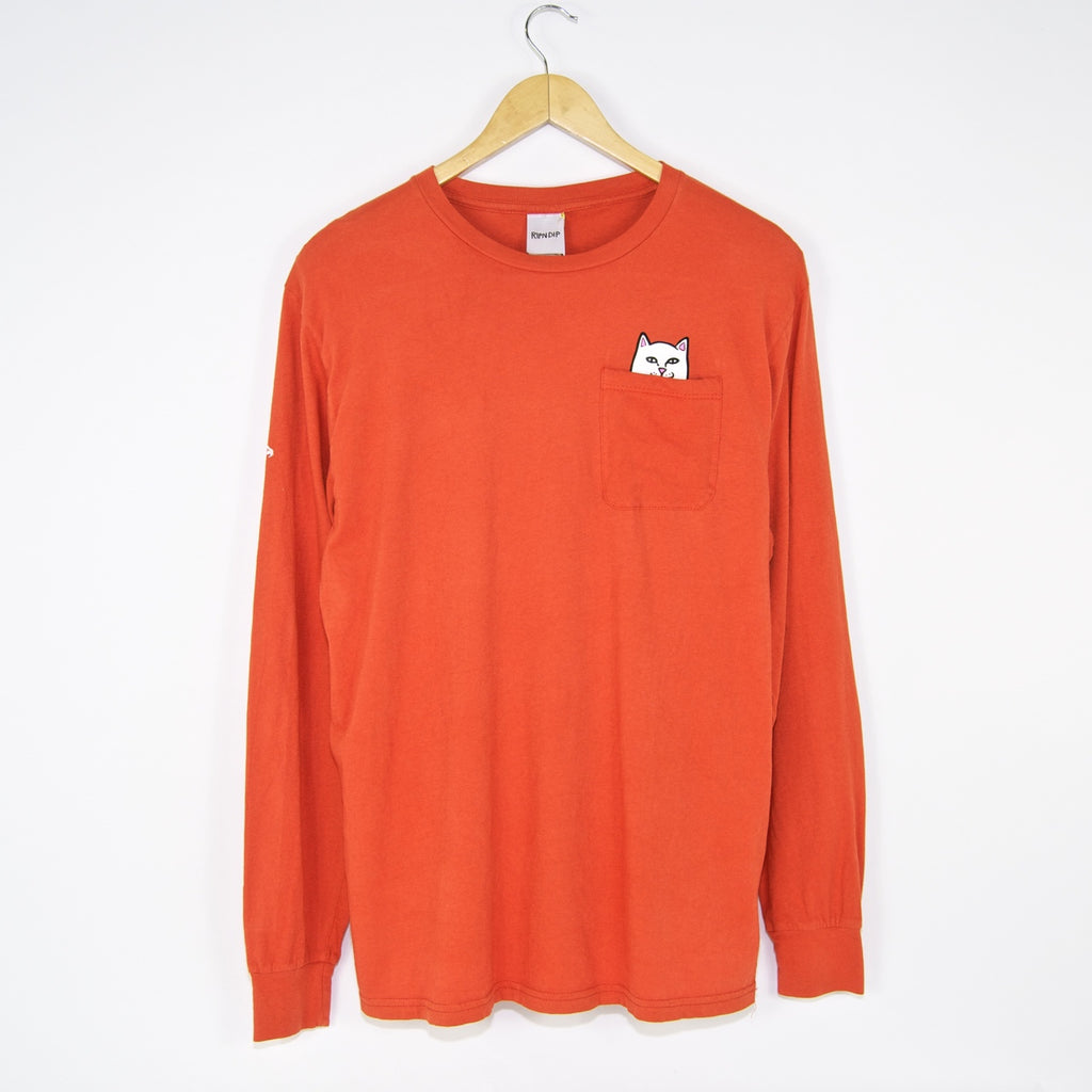 Rip N Dip - Lord Nermal Longsleeve T-Shirt - Texas Orange