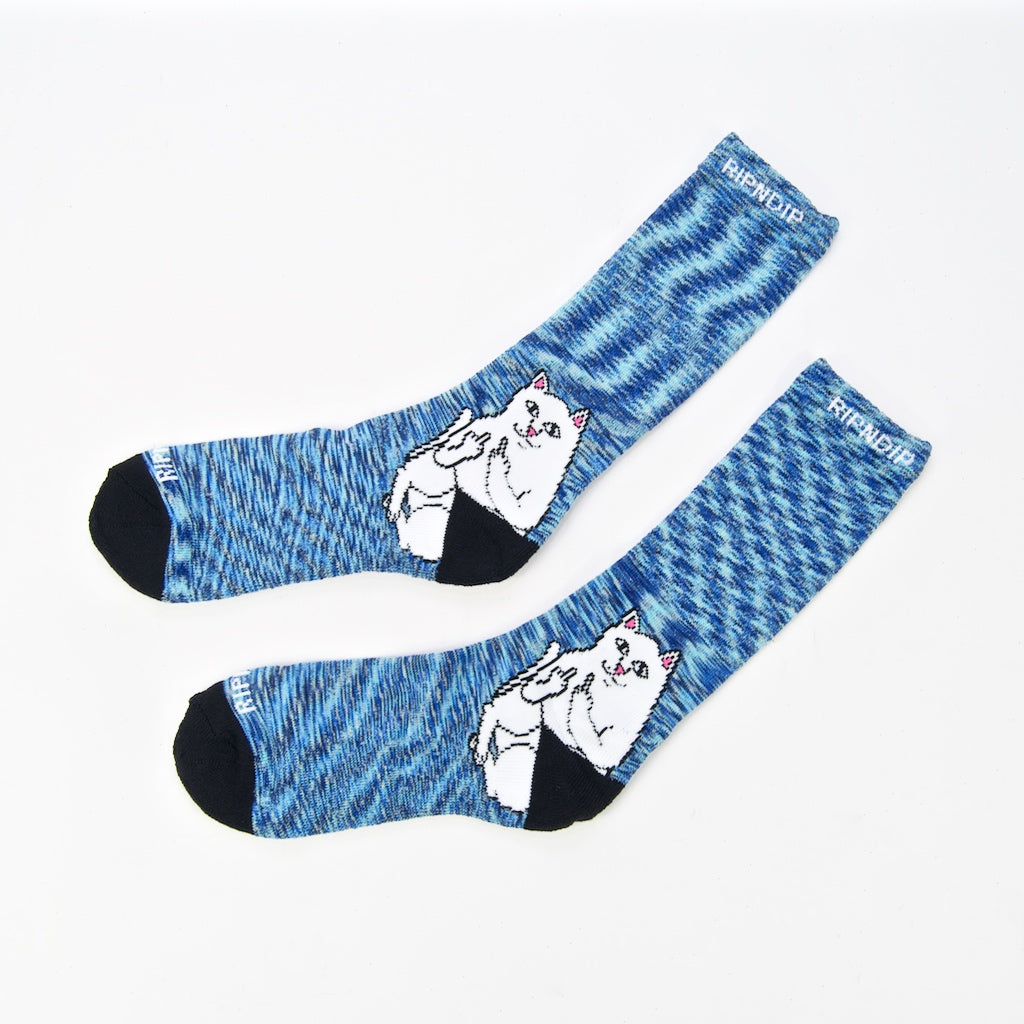 Rip N Dip - Lord Nermal Socks - Navy Speckle