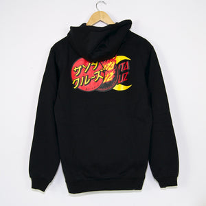 Santa Cruz - Dot Group Pullover Hooded Sweatshirt - Black