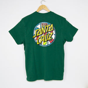 Santa Cruz - Jackpot Dot T-Shirt - Evergreen