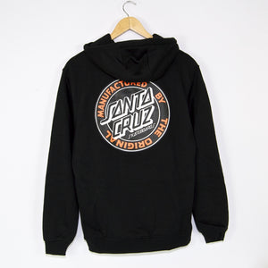 Santa Cruz - MFG Dot Pullover Hooded Sweatshirt - Black