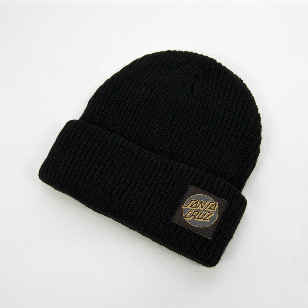 Santa Cruz - Missing Dot Beanie - Black