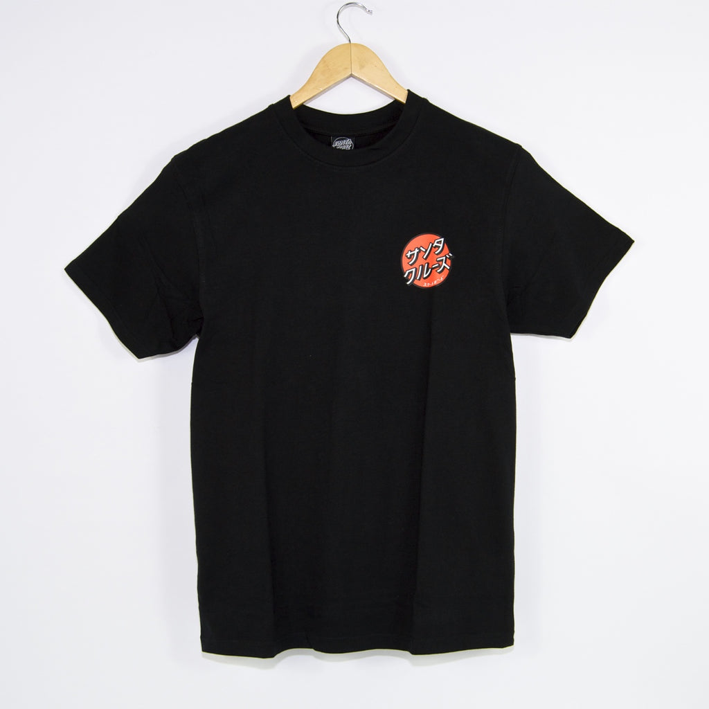 Santa Cruz - Other Japanese Dot T-Shirt - Black