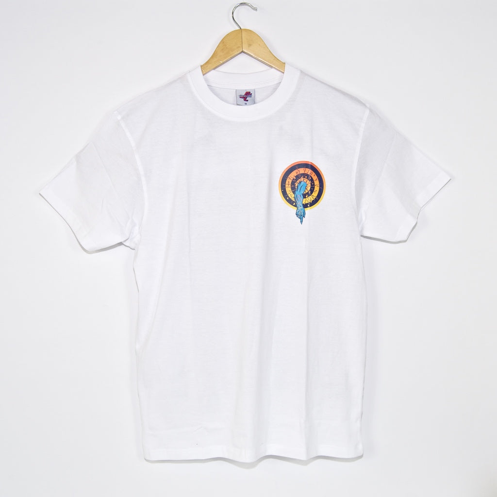 Santa Cruz - Roskopp Dot T-Shirt - White