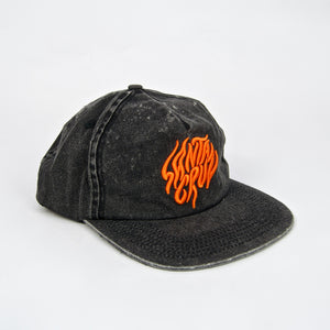 Santa Cruz - Salba Tiger Snapback Cap - Acid Wash Black