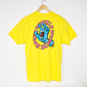 Santa Cruz - Screaming Hand Scream T-Shirt - Yellow