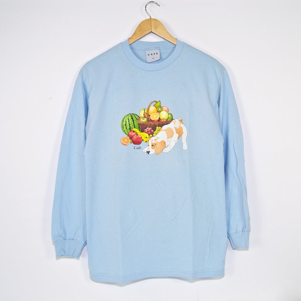 Skateboard Cafe - Healthy Longsleeve T-Shirt - Powder Blue