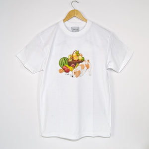 Skateboard Cafe - Healthy T-Shirt - White