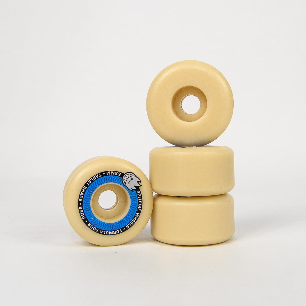 Spitfire - 53mm (99a) Formula Four Tablet Skateboard Wheels