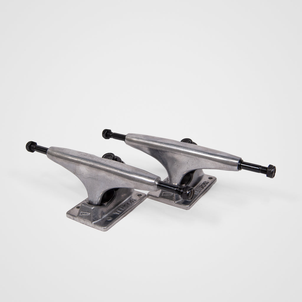 Tensor Trucks - (Pair) 5.5 Tensor Alloys Skateboard Trucks - Raw