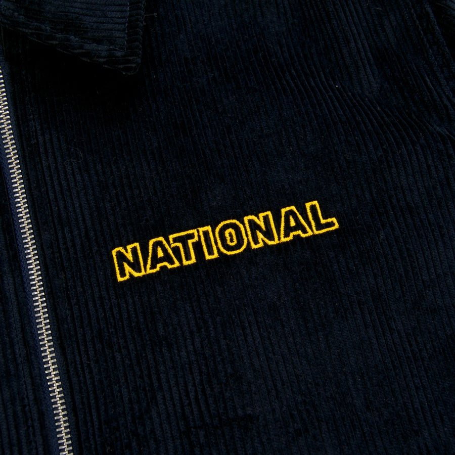 The National Skateboard Co. - Cord Harrington Jacket - Navy