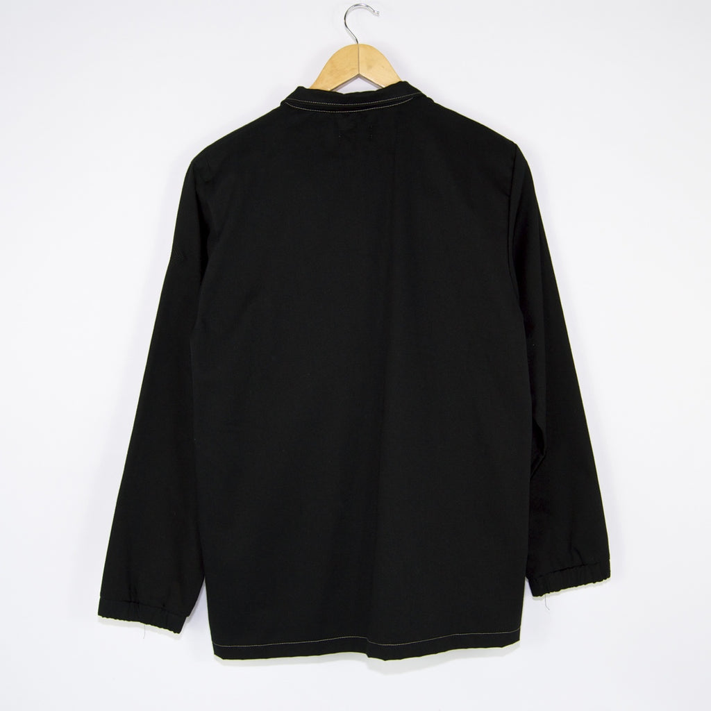 The National Skateboard Co. - Quarterzip Longsleeve Shirt - Black