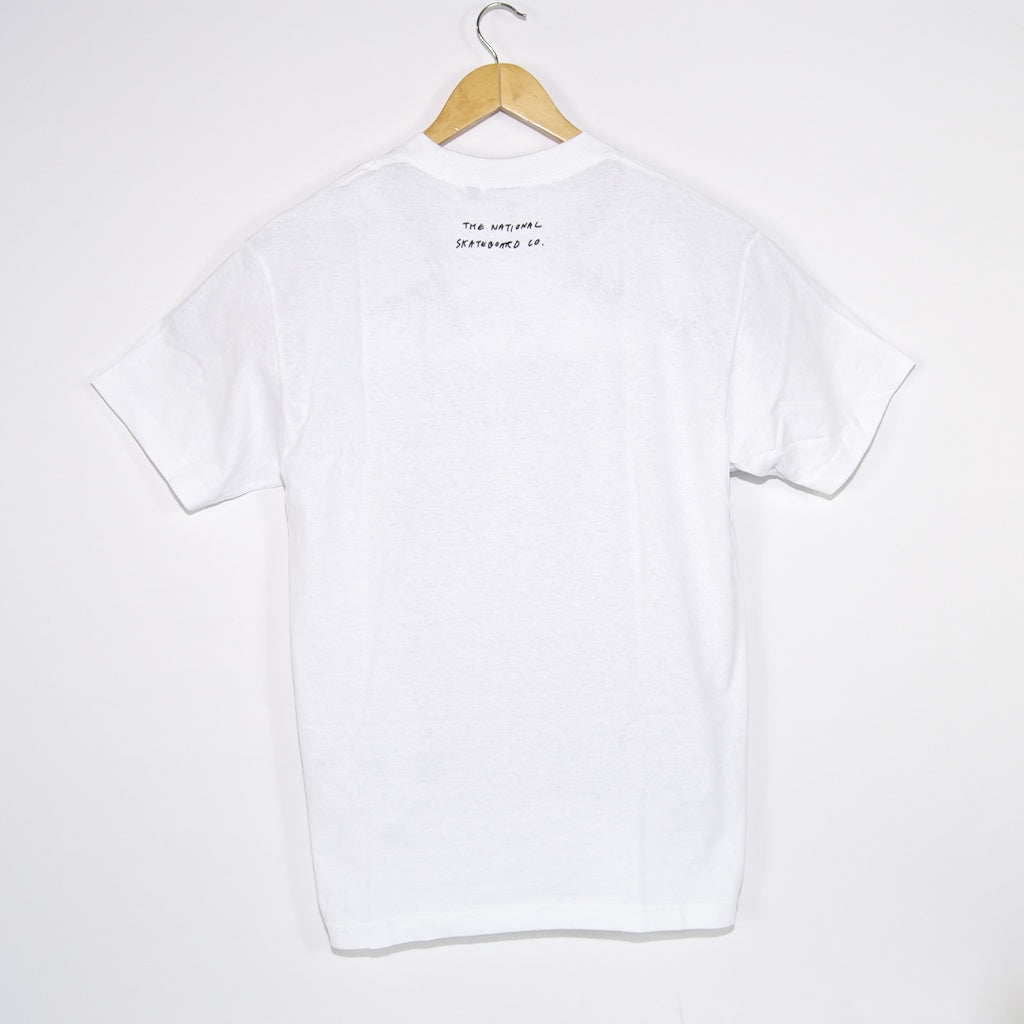 The National Skateboard Co. - The Ben Raemers Foundation Maaate T-Shirt - White