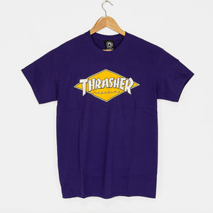 Thrasher Magazine - Diamond Logo T-Shirt - Purple