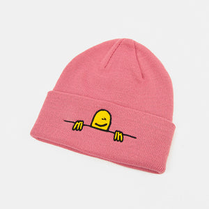 Thrasher Magazine - Gonz Sad Logo Beanie - Light Pink