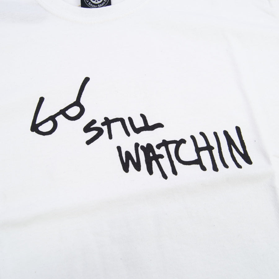 Thrasher - Still Watchin T-Shirt - White