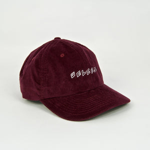 Welcome Skate Store - Twist Cord Cap - Burgundy