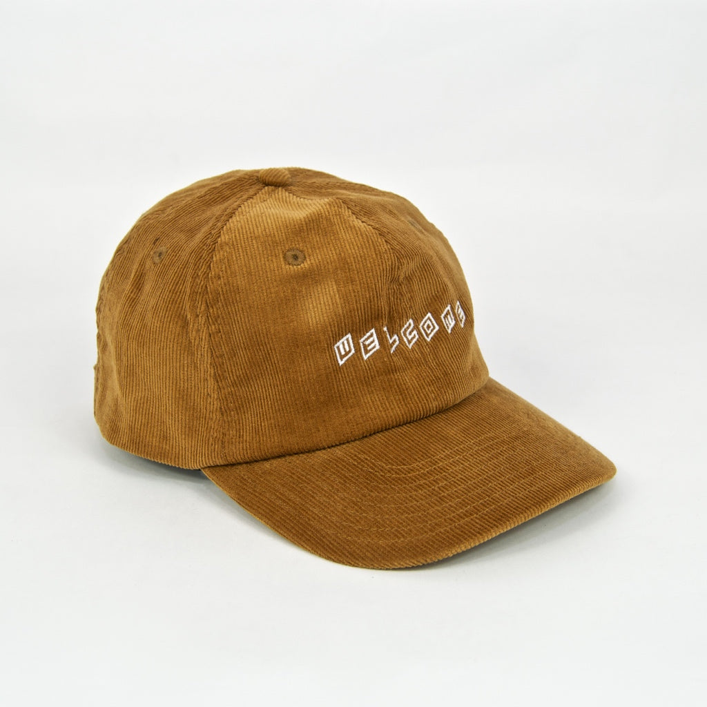 Welcome Skate Store - Twist Cord Cap - Camel