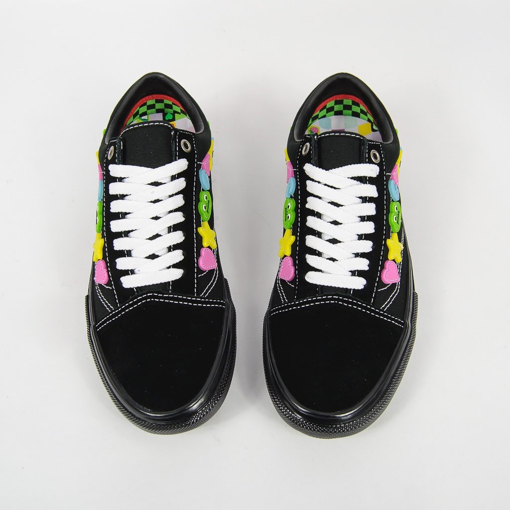 Vans - Frog Skate Old Skool LTD Shoes - Black / Black