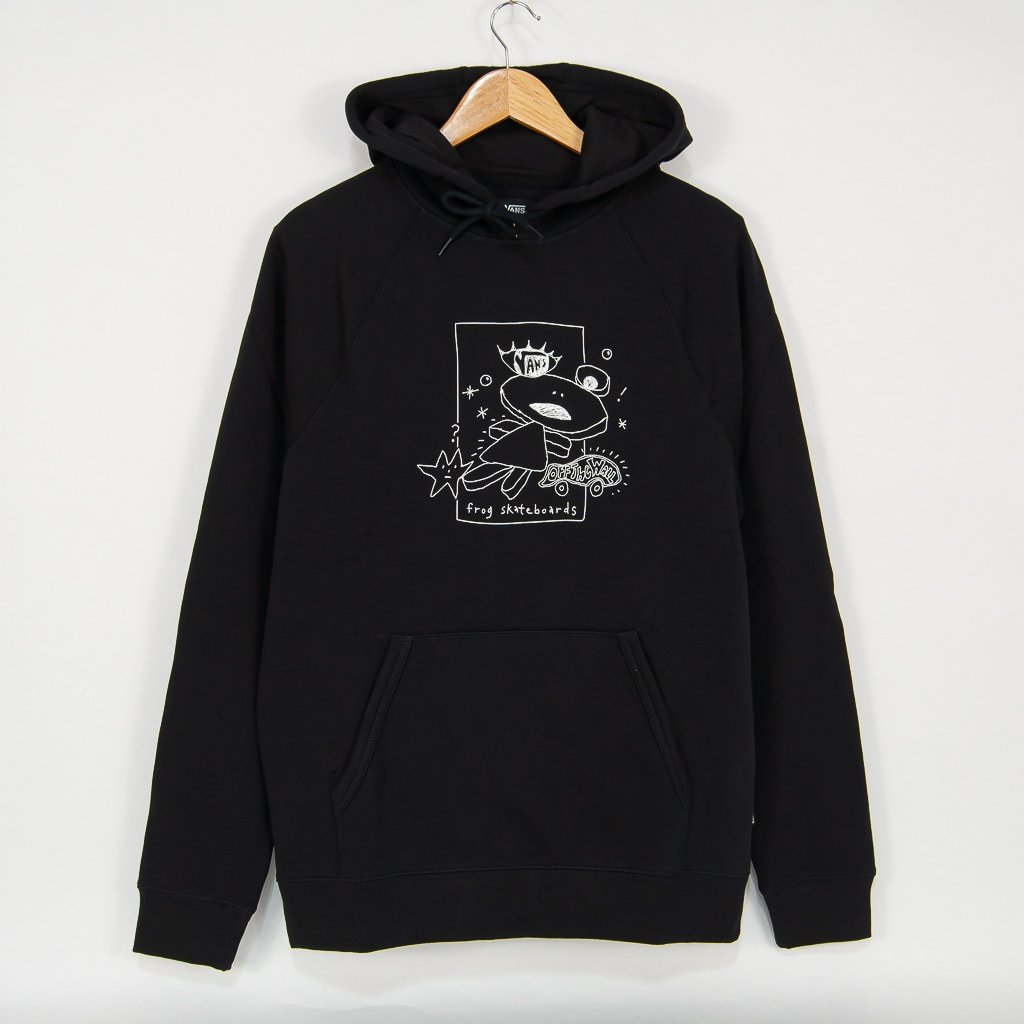 Vans - Frog Versa Pullover Hooded Sweatshirt - Black
