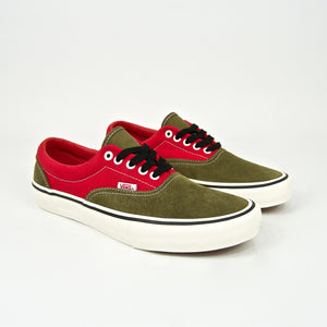 Vans - Lotties Era Pro LTD Shoes - Red / Military