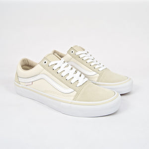 Vans - Old Skool Pro Shoes - Marshmallow / White