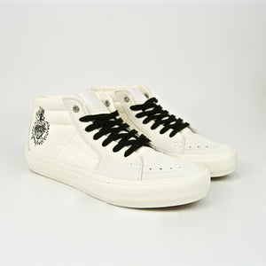 Vans - Slam City Sk8-Mid Pro Shoes - Marshmallow