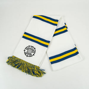 Welcome Skate Store - Welcome Leeds Scarf - White / Blue / Yellow