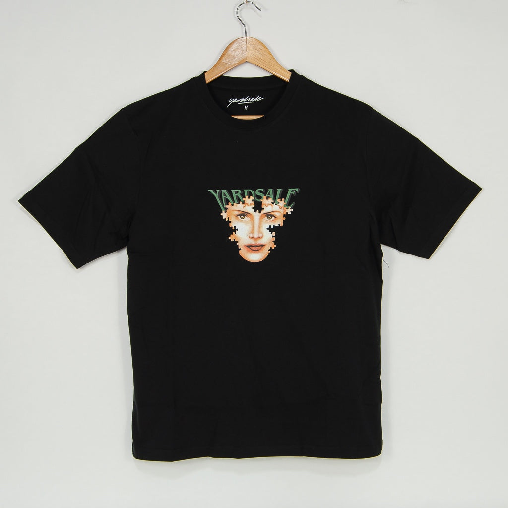 Yardsale - Puzzle T-Shirt - Black
