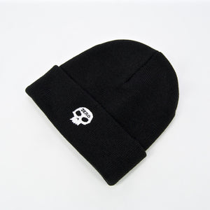 Zero Skateboards - Single Skull Beanie - Black