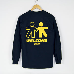 Welcome Skate Store - 2020 Longsleeve T-Shirt - Navy
