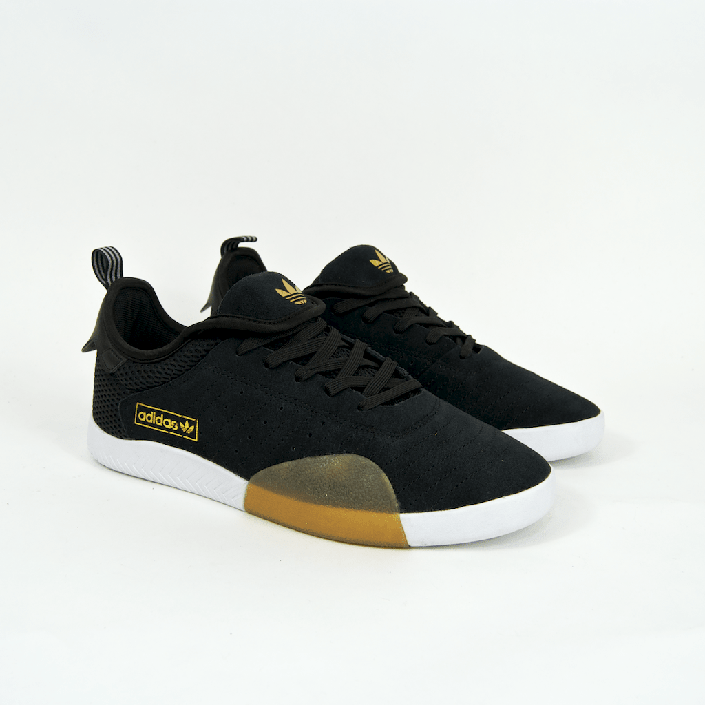 Adidas Skateboarding - 3ST.003 Shoes - Core Black / Light Granite / Footwear White