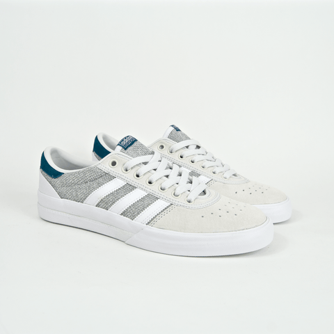 Adidas Skateboarding - Lucas Premiere ADV Shoes - Footwear White / Solid Grey / Real Teal
