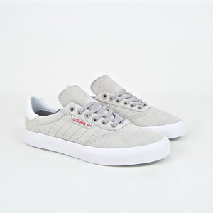 Adidas Skateboarding - 3MC Shoes - Grey / White / Scarlet