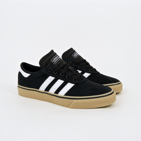 Adidas Skateboarding - Adi Ease Premier ADV Shoes - Core Black / Footwear White / Gum