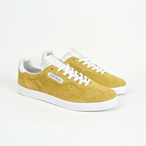 Adidas Skateboarding - Alltimers Gazelle Super Shoes - Mesa / Chalk White / Blue