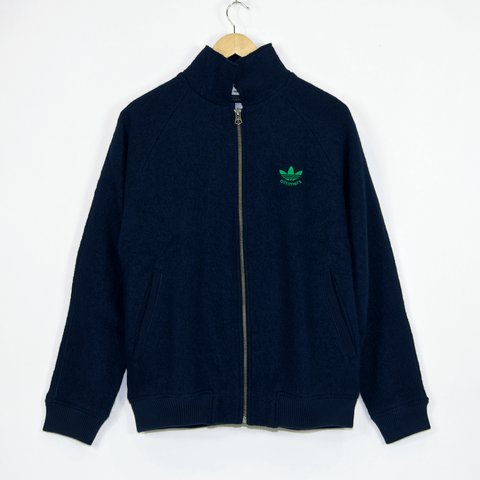 Adidas Skateboarding - Alltimers Jacket - Collegiate Navy / Green