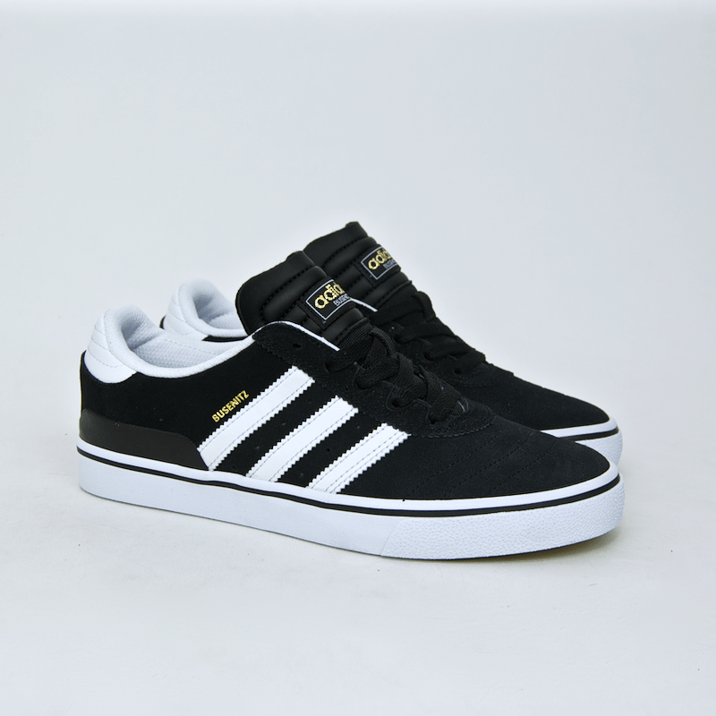 7a15fa084 ... Adidas Skateboarding - Busenitz Vulc Shoes - Black   Running White    Black ...