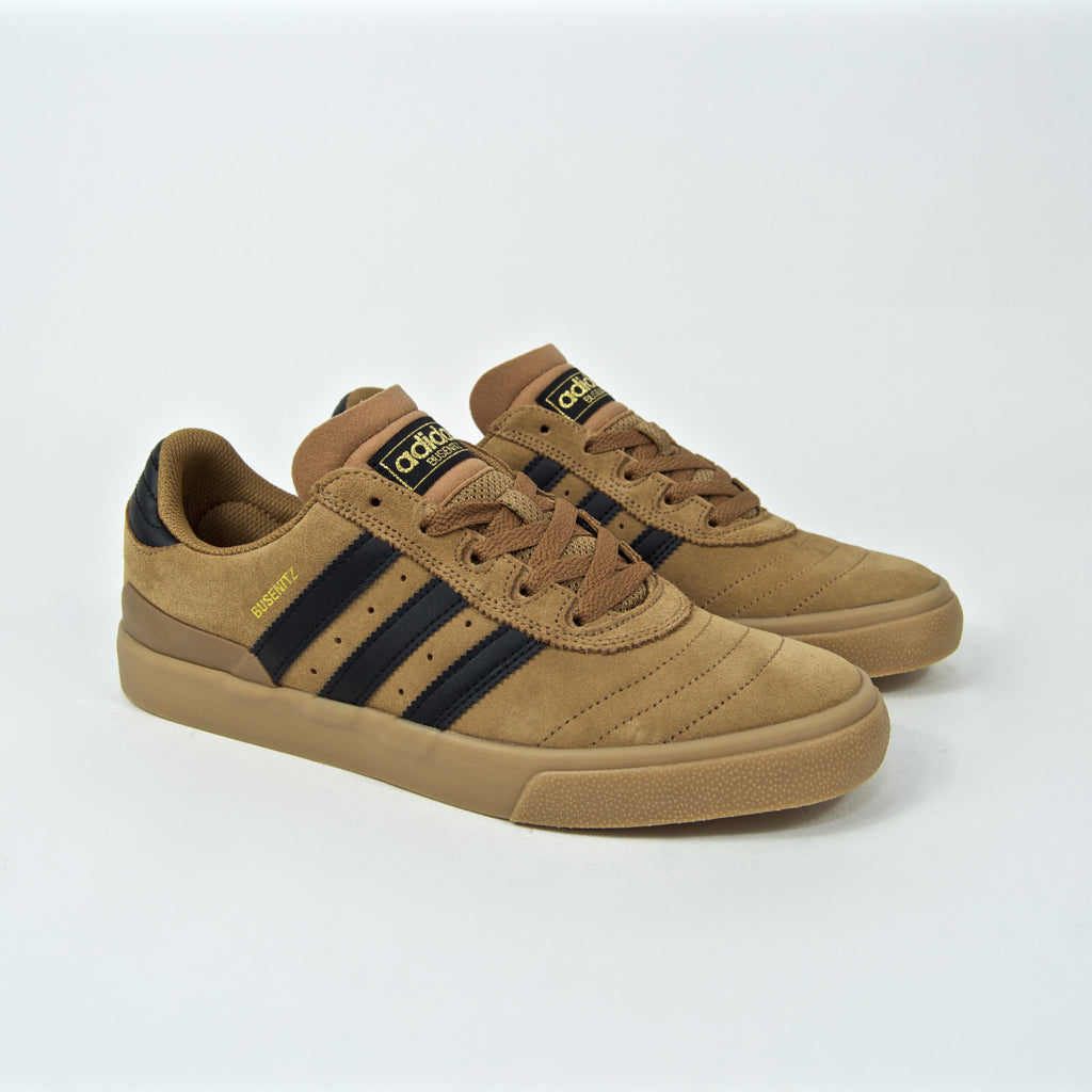 Adidas Skateboarding - Busenitz Vulc Shoes - Raw Desert / Core Black / Gum