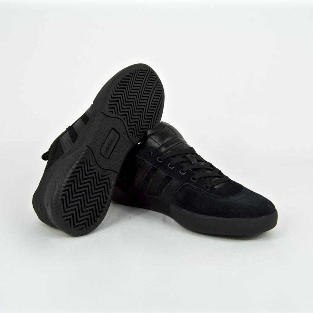 Adidas Skateboarding - City Cup Shoes - Black / Black / Black