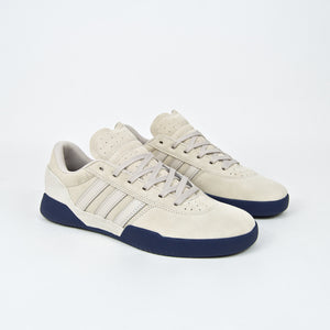 Adidas Skateboarding - City Cup Shoes - Clear Brown / Dark Blue / Clear Brown