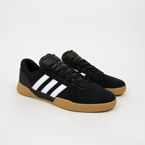 Adidas Skateboarding - City Cup Shoes - Core Black / Footwear White / Gum